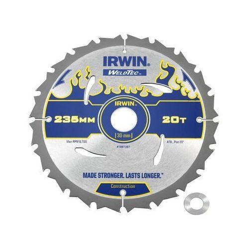 Irwin weldtec Tarcza do pilarki tarczowej 235 mm/20t/30(20)