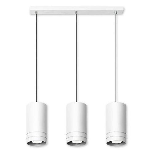 Lampex Lampa wisząca simon 3l biała