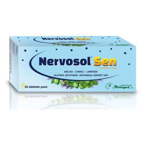 Herbapol wrocław Nervosol sen x 20 tabletek