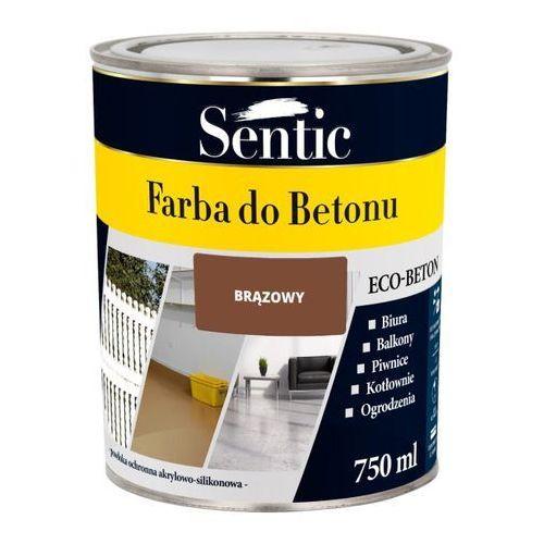 Farba do betonu Sentic brązowa 750 ml, SFB750BR