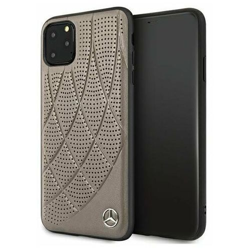 Mercedes MEHCN65DIQBR iPhone 11 Pro Max brązowy/brown hardcase Bow Line (3700740460153)