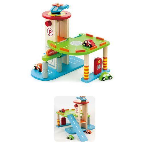 Viga Toys, Garaż dwupoziomowy - produkt z kategorii- Garaże