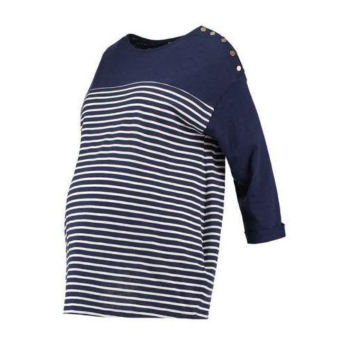 New Look Maternity Bluzka z długim rękawem blue pattern