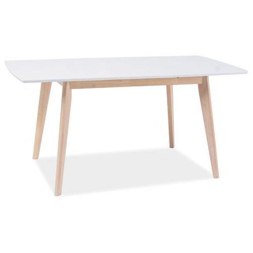 Stół rozkładany COMBO II biały/dąb bielony