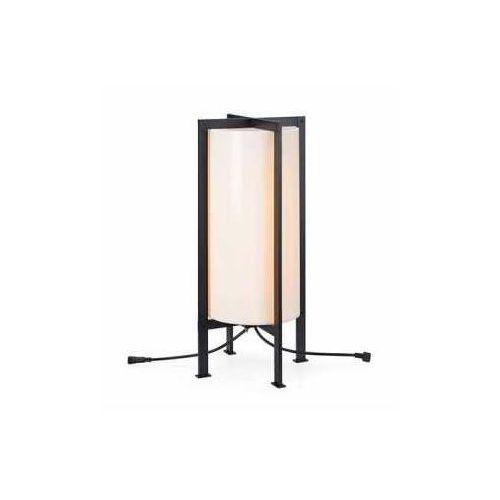garden 107987 lampa stojąca ogrodowa cylinder 1x6w led biała - negocjuj cenę marki Markslojd