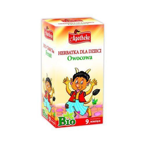 bio herbatka dla dzieci owocowa, 20 torebek marki Apotheke