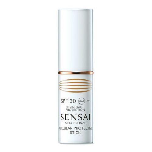 Anti-ageing sun care cellular protective stick spf30 sztyft do opalania twarzy 9g marki Sensai