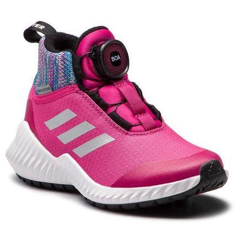 Buty adidas - FortaTrail Boa Btw K AH2585 Reamag/RefsilL/Grefiv, kolor różowy
