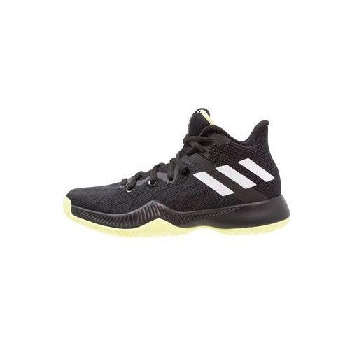 adidas Performance MAD BOUNCE Obuwie do koszykówki core black/footwear white/scarlet