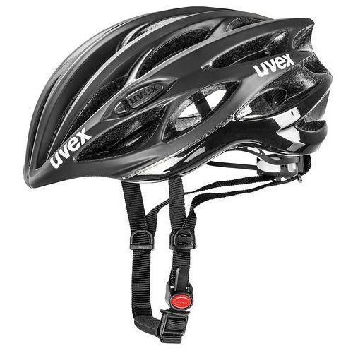 kask rowerowy race 1 black mat/shiny (50-55 cm) marki Uvex