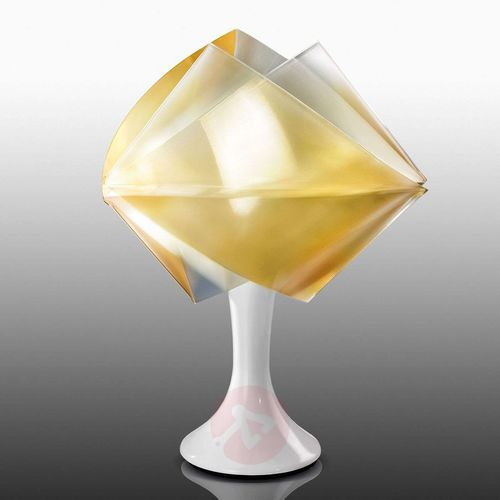 Slamp gemmy prisma color lampa stołowa złoty, 1-punktowy - nowoczesny - obszar wewnętrzny - color - czas dostawy: od 8-12 dni roboczych