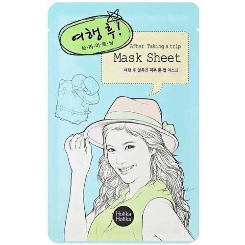 Holika holika  mask sheet after taking a trip - rozjaśniająca maseczka w płachcie 18ml (8806334350444)