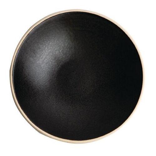 Olympia Płytka stożkowa miska, czarna delhi 200mm canvas (zestaw 6 sztuk)