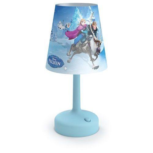 Philips 71796/08/16 - Lampa stołowa dla dzieci DISNEY FROZEN LED/0,6W/3xAA (8718696130568)