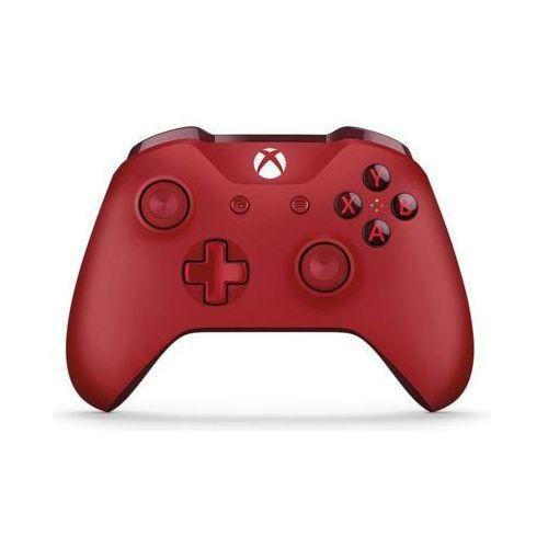 Kontroler bezprzewodowy  wl3-00028 czerwony do xbox one marki Microsoft