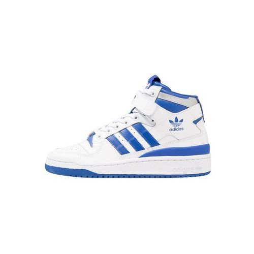 adidas Originals FORUM MID Tenisówki i Trampki wysokie footwear white/collegiate roya (4059323711625)