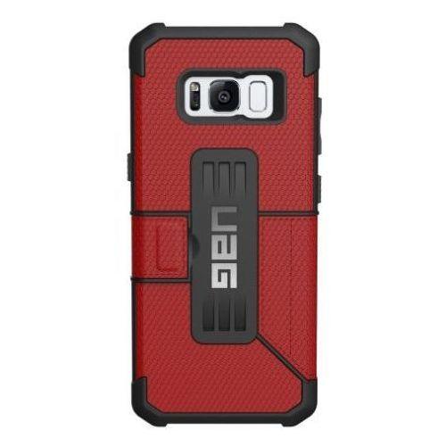 Etui URBAN ARMOR GEAR Uag Metropolis do Samsung Galaxy S8 Czerwony + DARMOWY TRANSPORT!, kolor czerwony