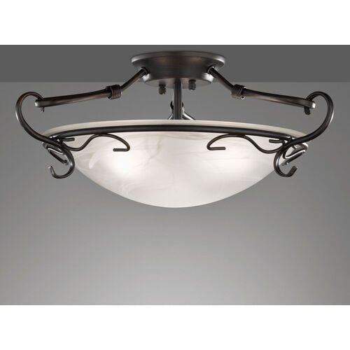 Antyczna lampa sufitowa venturi wysokość 22 cm marki Fischer&honsel gmbh