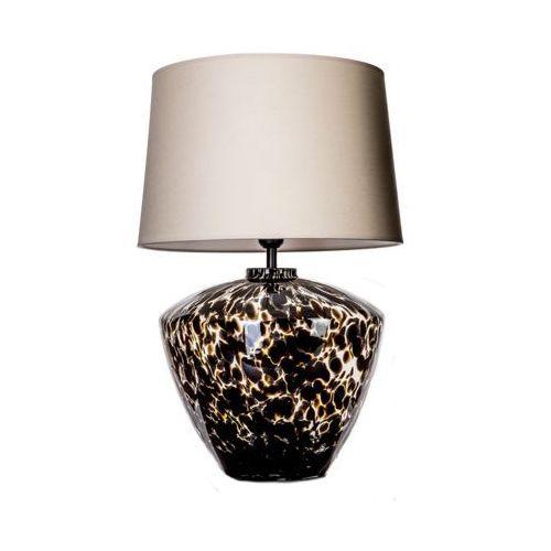 Lampa stołowa lampka 4Concepts Parma 1x60W E27 bezowy/biały/czarny L049102221