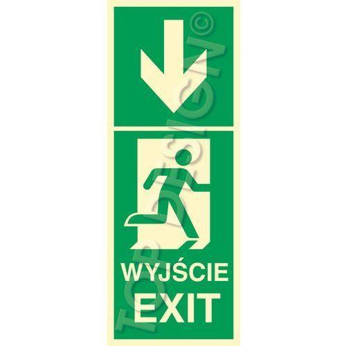 Kierunek do wyjścia w dół prawostronny / Down to Exit right side. Najniższe ceny, najlepsze promocje w sklepach, opinie.