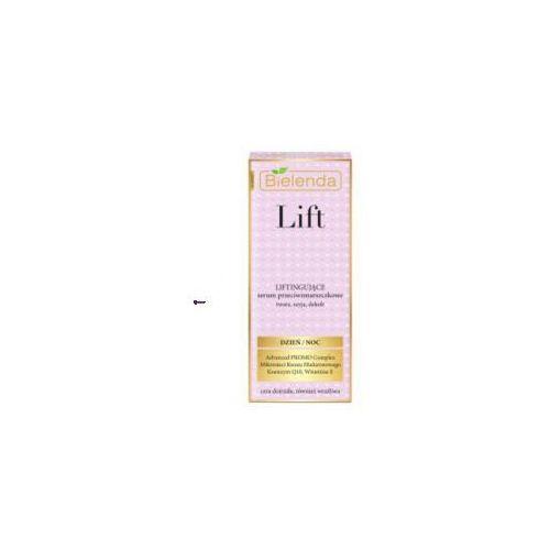 lift (w) liftingujące serum przeciwzmarszczkowe twarz, szyja, dekolt 30ml marki Bielenda