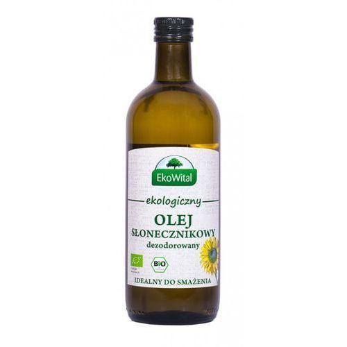 Olej słonecznikowy do smażenia bio 1 l marki Eko wital