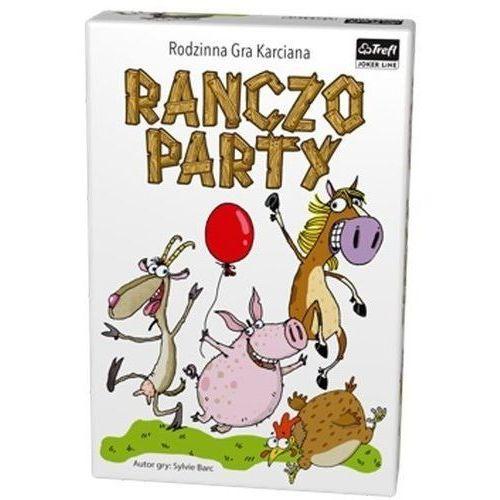 Trefl kraków Ranczo party rodzinna gra karciana