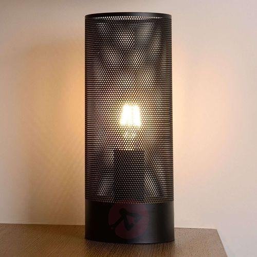 03516/01/30 - lampa stołowa beli 1xe27/60w/230v czarna marki Lucide