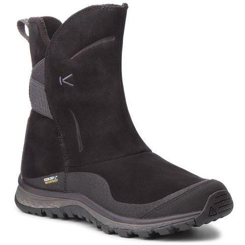 Śniegowce - winterterra lea boot wp 1019671 black/raven, Keen, 36-38