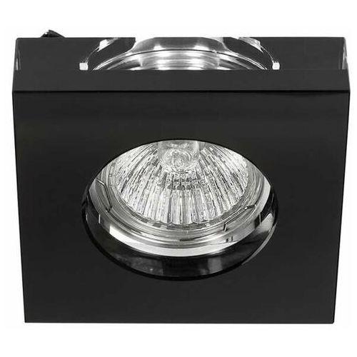 LAMPA sufitowa Astro nero Orlicki Design szklana OPRAWA kwadratowa natynkowa glamour czarna, Astro nero