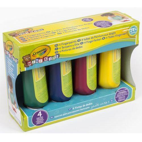 Crayola, Mini Kids, Farby do malowania palcami, 4 szt. (5010065032392)
