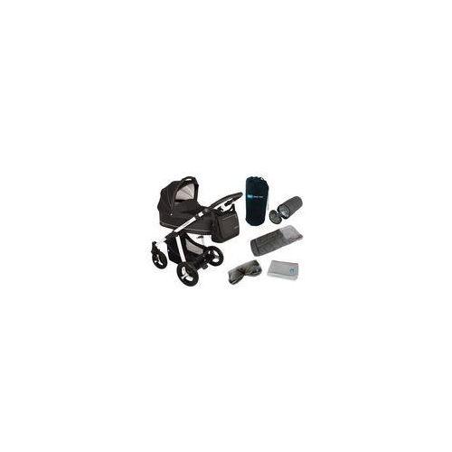 Wózek wielofunkcyjny Lupo Comfort + Winterpack Baby Design (black)