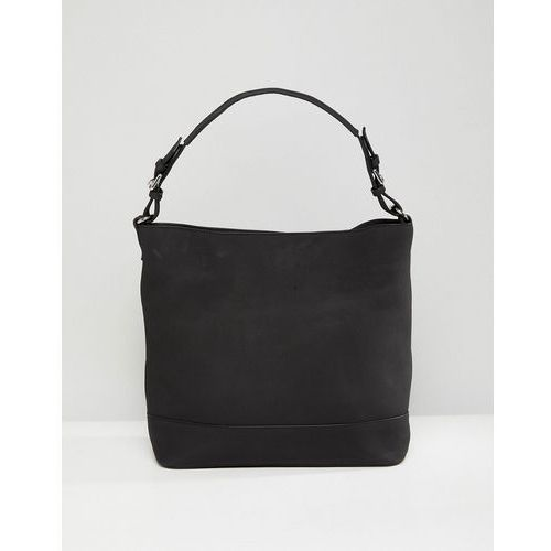 Pieces Structured Shoulder Bag - Black, kolor czarny