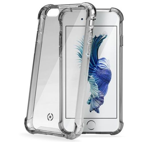 Etui CELLY Bumper ARMOR701BK do iPhone 6+/6S+ Czarny, kolor czarny