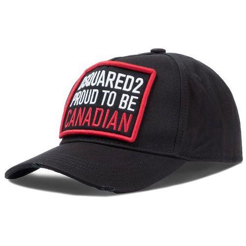 Czapka z daszkiem DSQUARED2 - Patch Cargo Baseball Caps BCM0251 05C00001 2124 Black