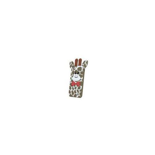 Nakładka animal 3d giraffe 2 lg k3 dual sim brązowy (gsm025128) darmowy odbiór w 20 miastach!, marki Noname
