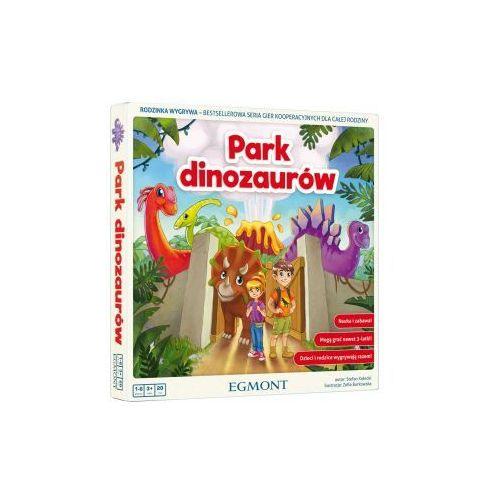 Park dinozaurów. gra kooperacyjna marki Egmont