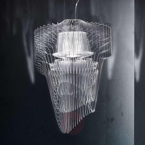 Wystawna designerska lampa wisząca led aria, 90 cm marki Slamp