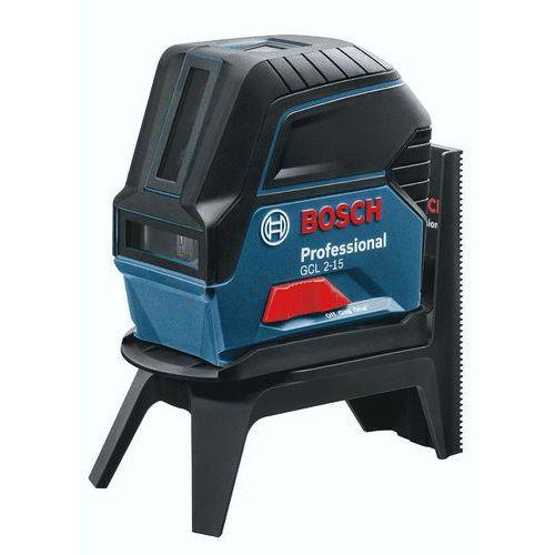 Bosch laser krzyżowo-punktowy gcl2-15 + podstawa rm1, w kartonie