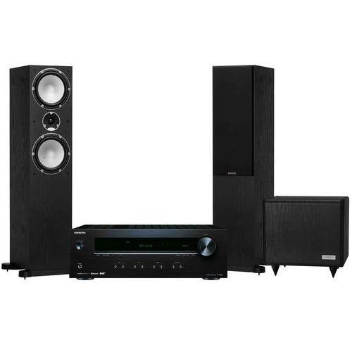 Zestaw stereo tx-8220b + tannoy mercury 7.4 czarny + sub ts 2.8 + darmowy transport! marki Onkyo