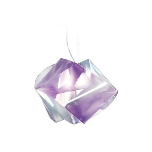 Lampa wisząca GEMMY PRISMA AMETHYST, kolor Transparentny,