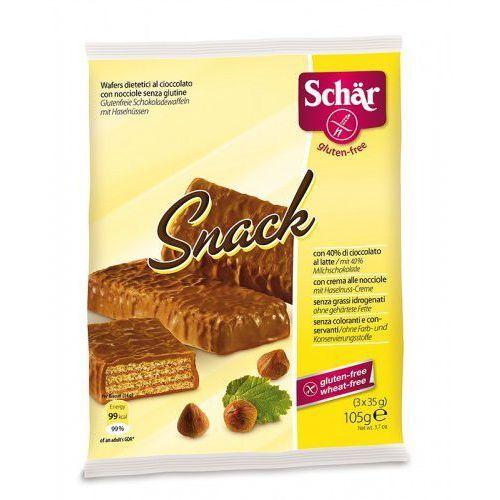 Snack- wafle w czekoladzie (3x35g) bezglutenowe  marki Schar