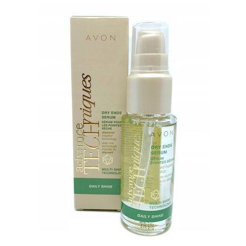 serum do suchych włosów daily shine marki Avon