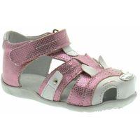 Sandałki dla dzieci 06545 różowe marki Kornecki
