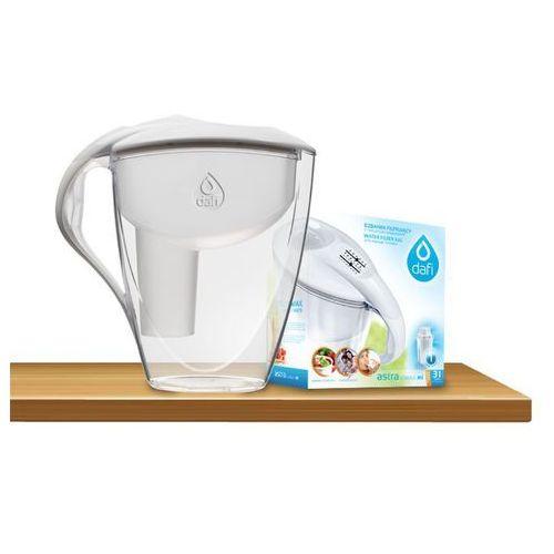 Dzbanek filtrujący wodę  astra classic 3,0l + 1 filtr marki Dafi