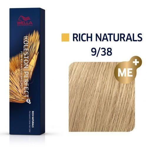 Wella koleston perfect me+   trwała farba do włosów 9/38 60ml marki Wella professionals