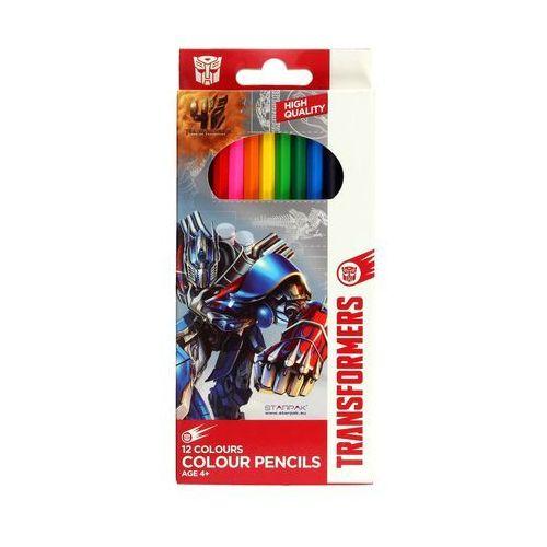 Kredki ołówkowe 12kol TRS Starpak 297001