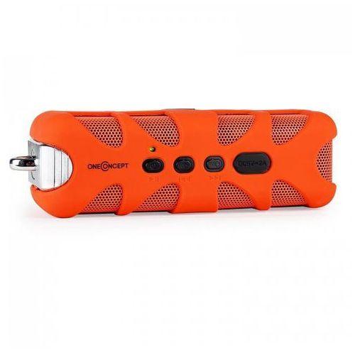 Oneconcept orange know głośnik bluetooth aux bateria, pomarańczowy