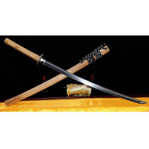 Miecz samurajski katana do treningu, stal warstwowana damasceńska, ręcznie kuta, r219 marki Kuźnia mieczy samurajskich