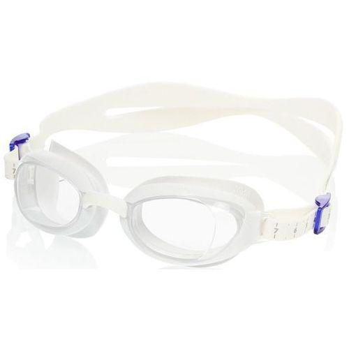 Okulary Speedo Aquapure Female white-clear